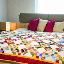 Stoff-Abo-Quilt
