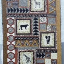 Wilma Richtberg Afrika-Quilt
