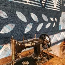 Eine super erhaltene Köhler Nähmaschine